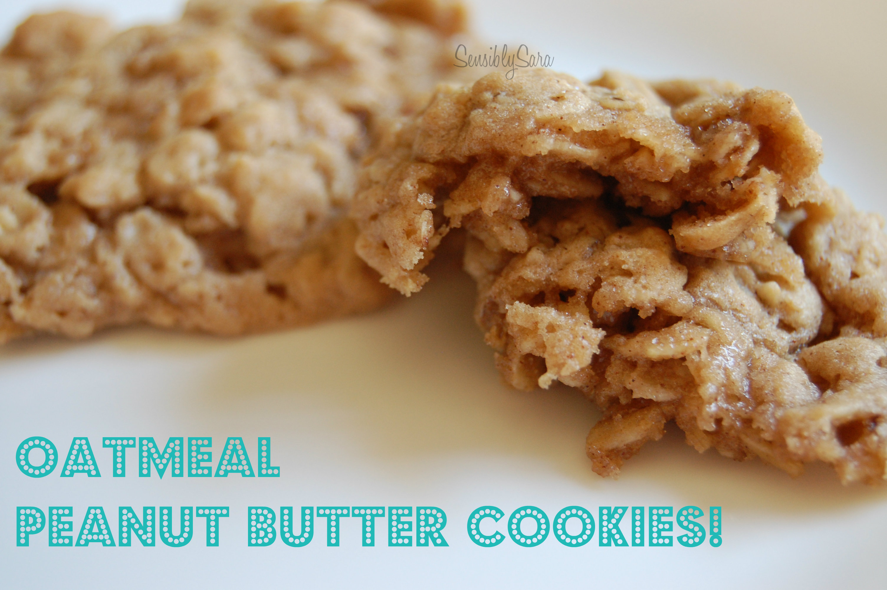 ... the peanut butter oatmeal cookies were created print oatmeal peanut