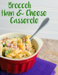 Broccoli Ham & Cheese Casserole #Recipe