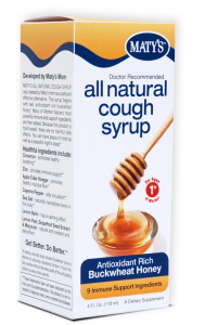 Maty's Cough Syrup {#Review and #Giveaway} CLOSED