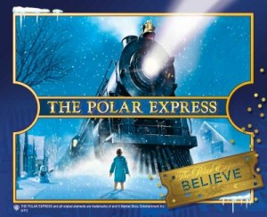 The Polar Express at the Texas State Railroad