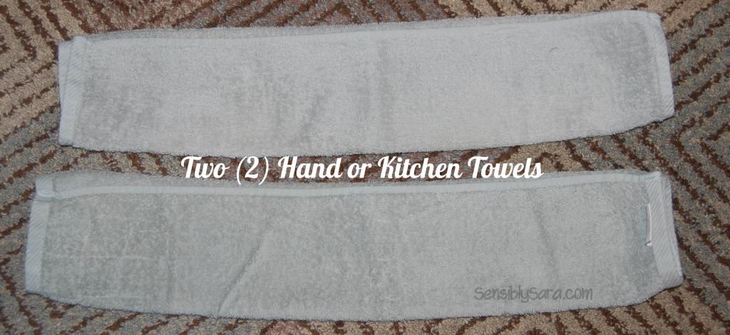 Towel Cake - Step 3 |  SensiblySara.com