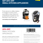 Best Buy Small Appliance Coupon