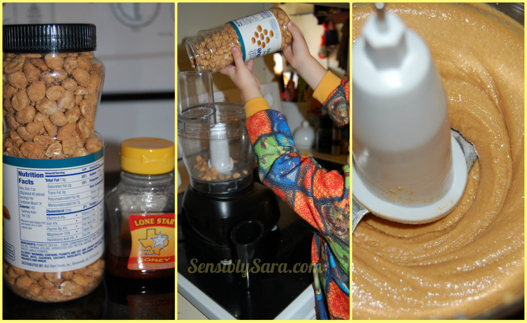 What You Need for DIY Peanut Butter | SensiblySara.com
