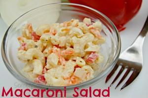 Macaroni Salad #Recipe