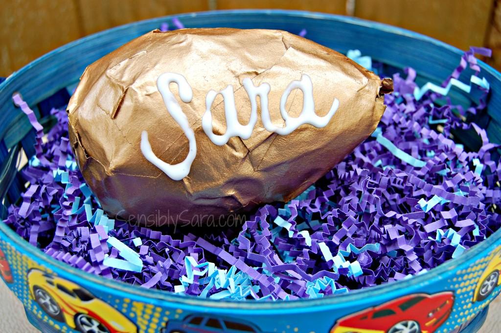 DIY Paper Mâché Eggs | SensiblySara.com