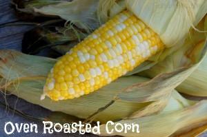 Oven Roasted Corn #Recipe