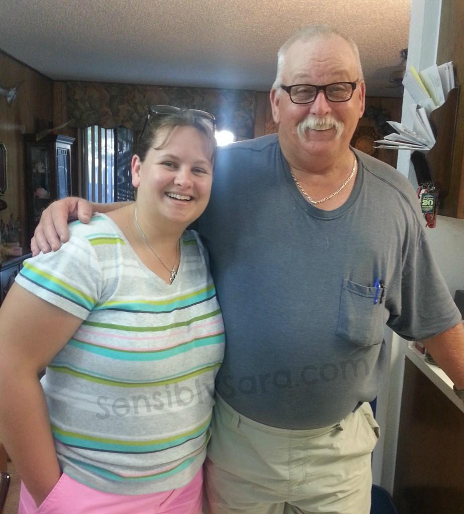 Dad & I | SensiblySara.com