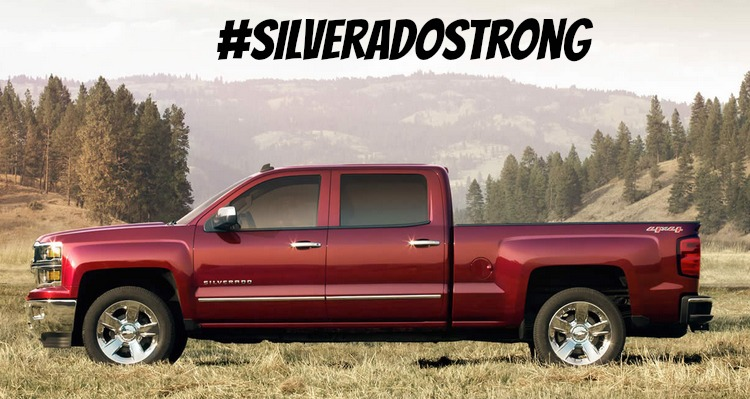 Chevrolet #SilveradoStrong | SensiblySara.com