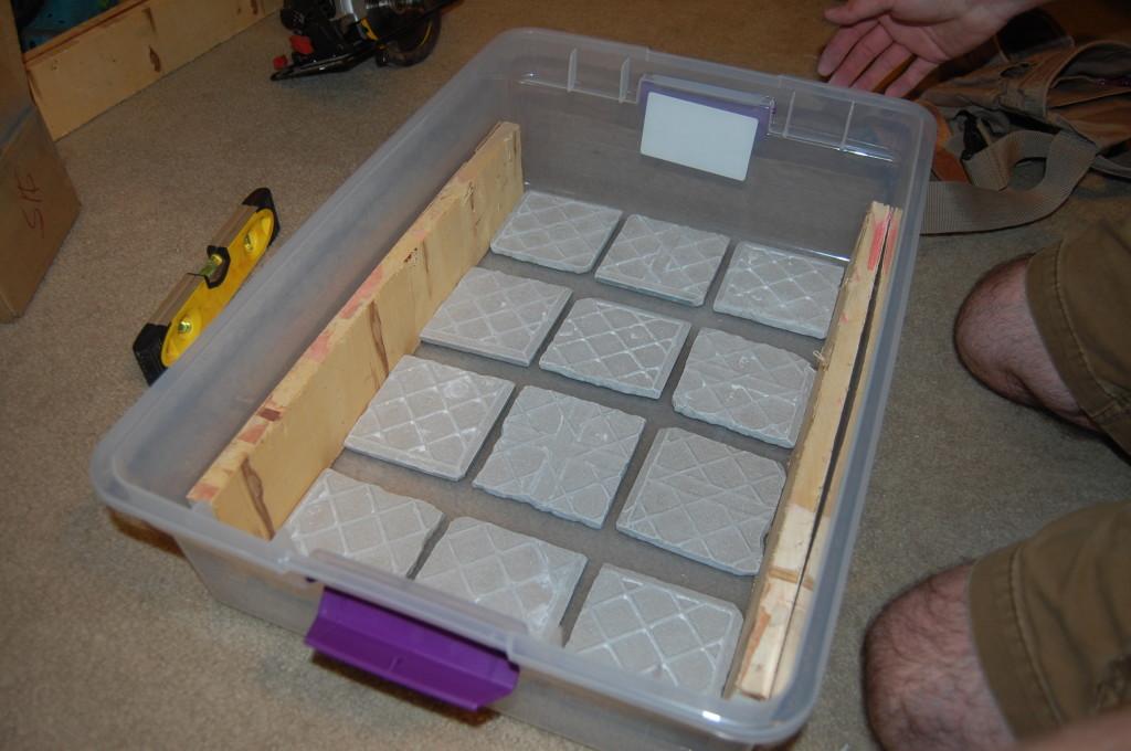 Placing Tiles | SensiblySara.com