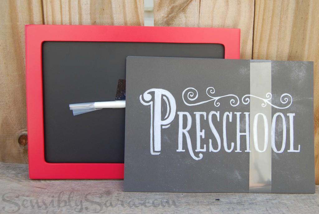 Pics 'n' Props School Days Activity Kit | SensiblySara.com