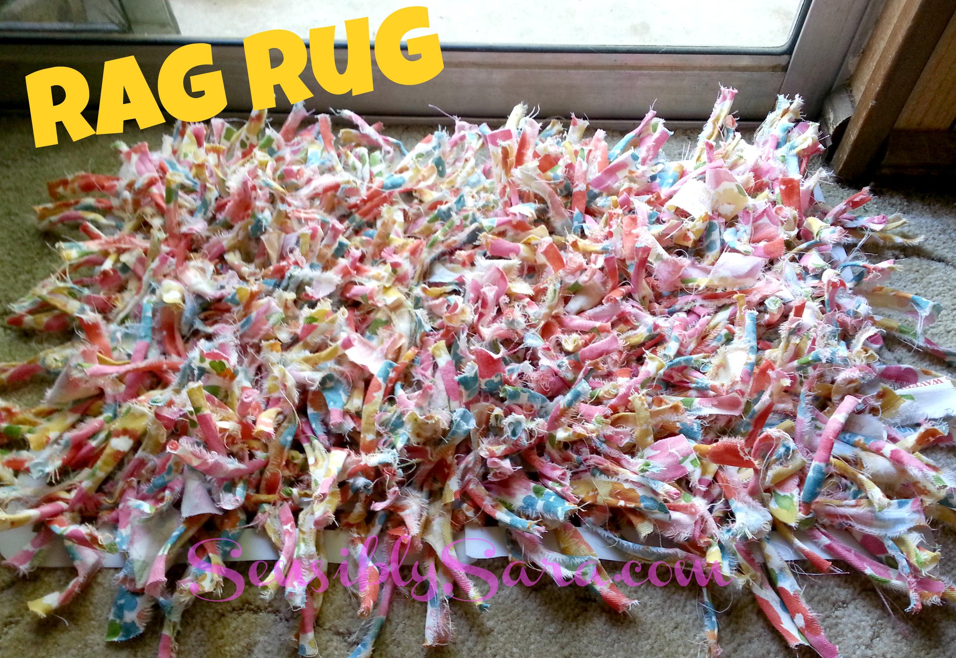 #Waverize Rag Rug   SensiblySara