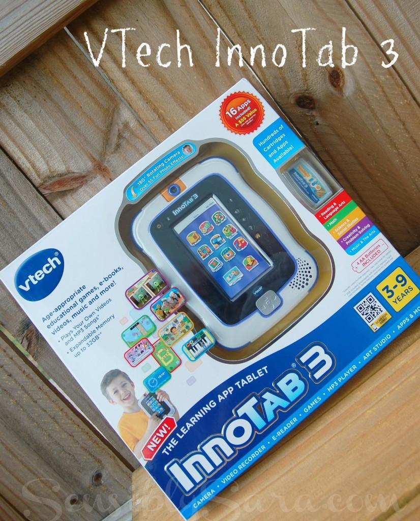VTech InnoTab 3 Learning App Tablet | SensiblySara.com