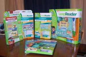 "LeapReader™ ""Ready, Set, Read & Write"" Party #LeapReader"