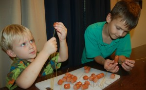Kids in the Kitchen: Squid Dogs