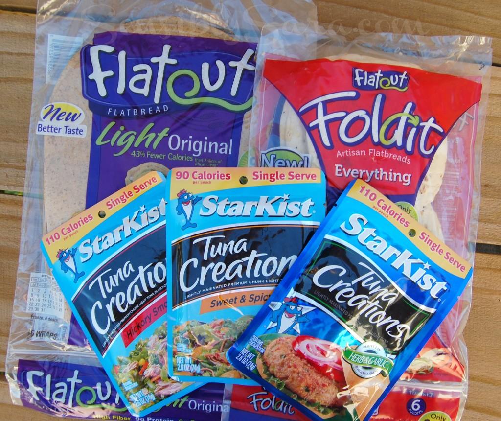 Flatout Flatbread and StarKist Tuna | SensiblySara.com