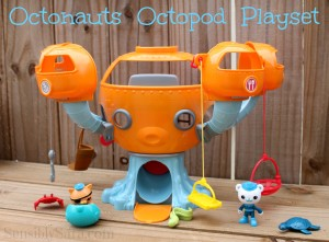 Fisher-Price Octonauts Octopod Playset #Review