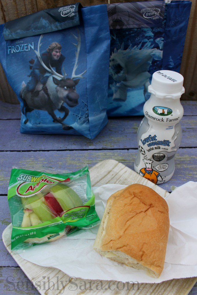 Subway Fresh Fit Meal #shop | SensiblySara.com