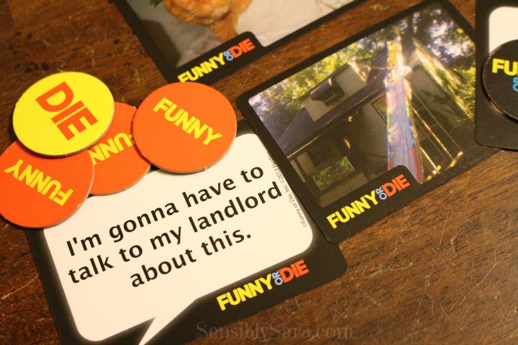 FUNNY OR DIE Game | SensiblySara.com