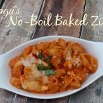 Ragú No-Boil Baked Ziti | SensiblySara.com
