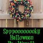 Sppppppooooooookky Rag Wreath | SensiblySara.com