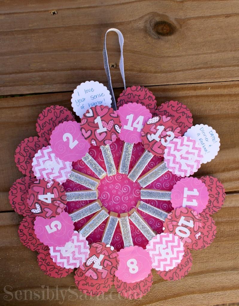 Valentine's Advent Calendar | SensiblySara.com