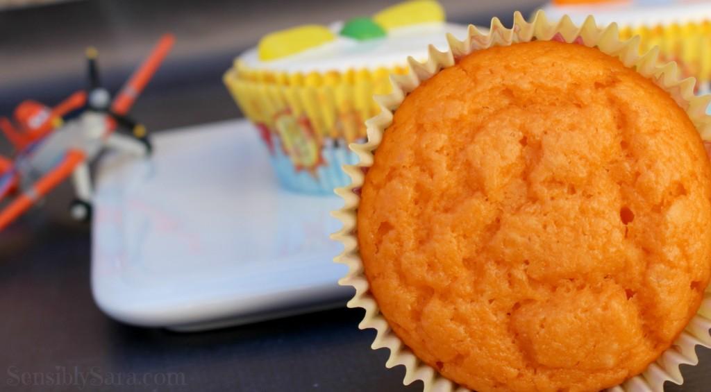 Orange Cupcakes Recipe | SensiblySara.com