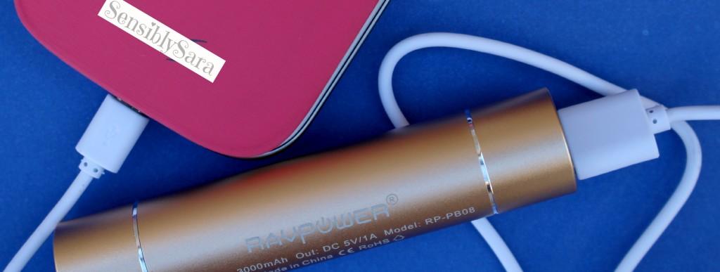 RAVPower Lipstick Charger | SensiblySara.com