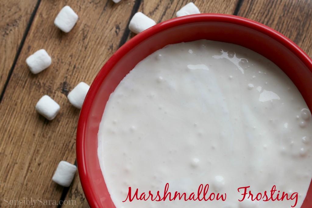 Marshmallow Frosting Recipe | SensiblySara.com