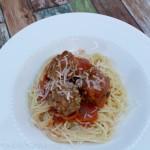 Spaghetti & Meatballs | SensiblySara.com