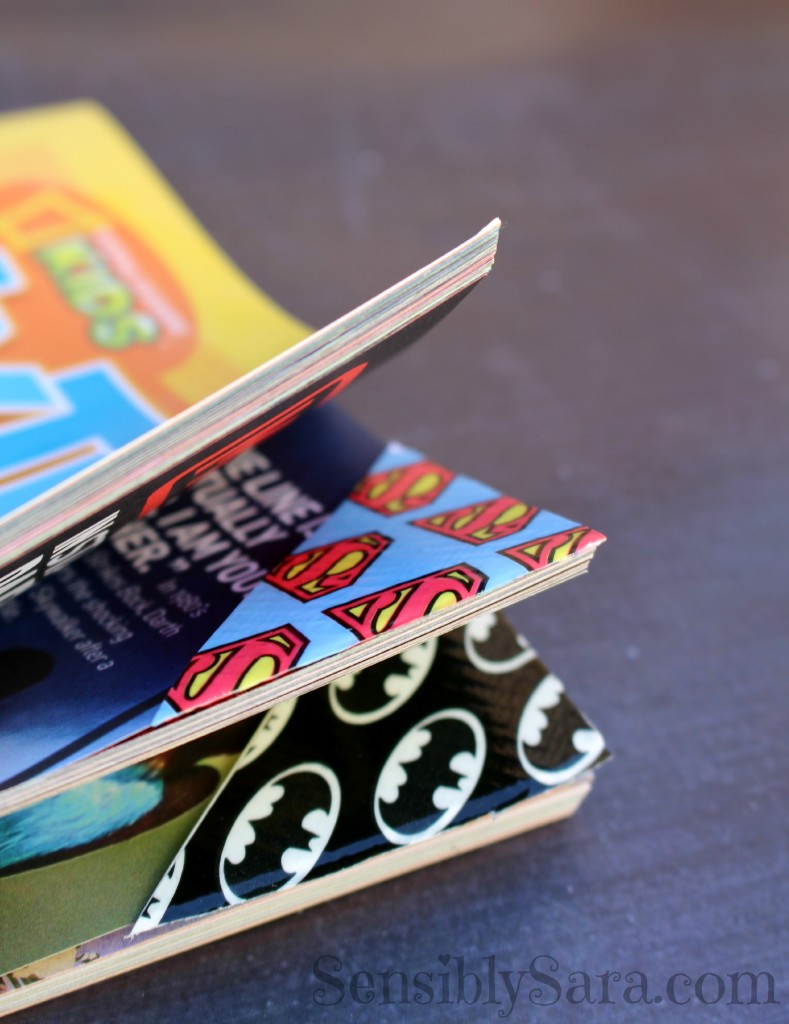 Using Duct Tape Bookmarks | SensiblySara.com