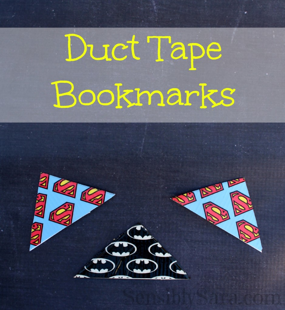 DIY Duct Tape Bookmarks | SensiblySara.com