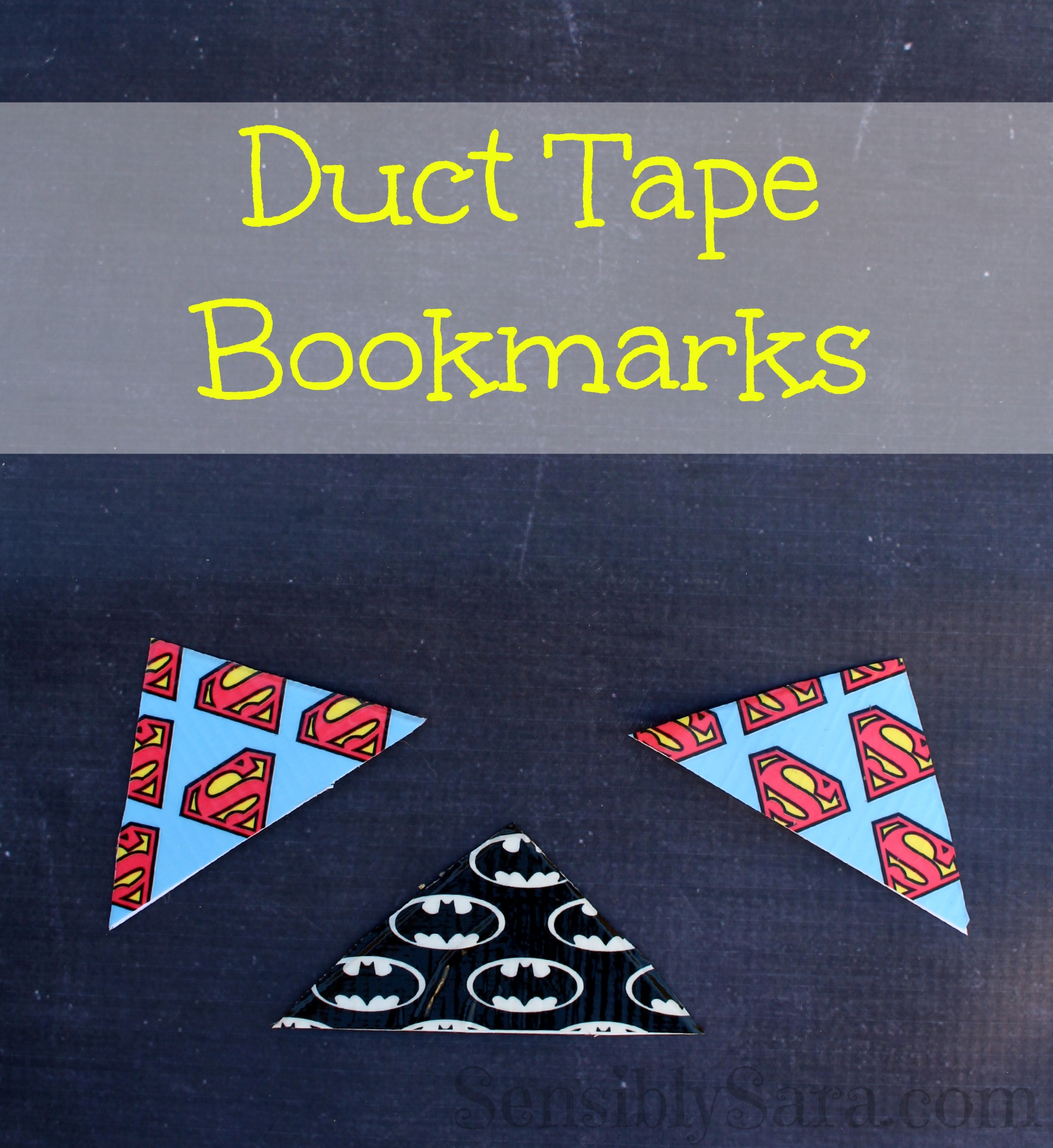 Duct tape bookmarks easy to make craft for Duct tape bookmark ideas