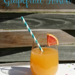 Grapefruit Punch | SensiblySara.com