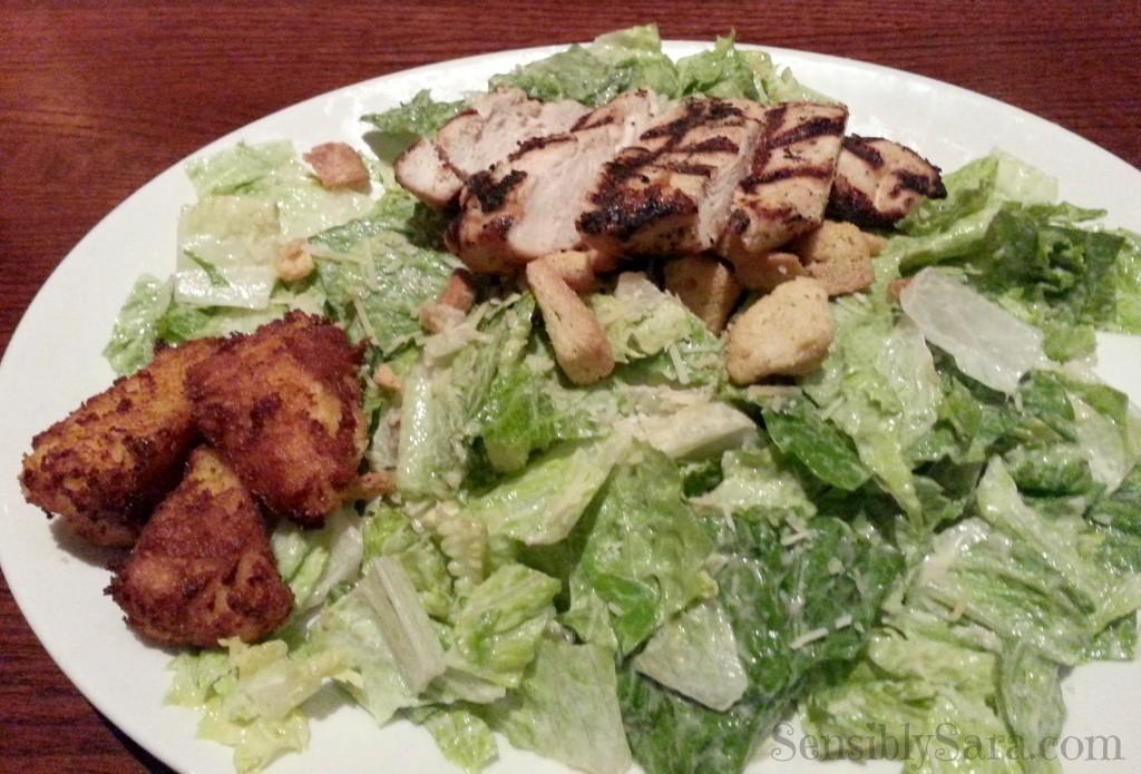 Houlihan's Caesar Salad | SensiblySara.com