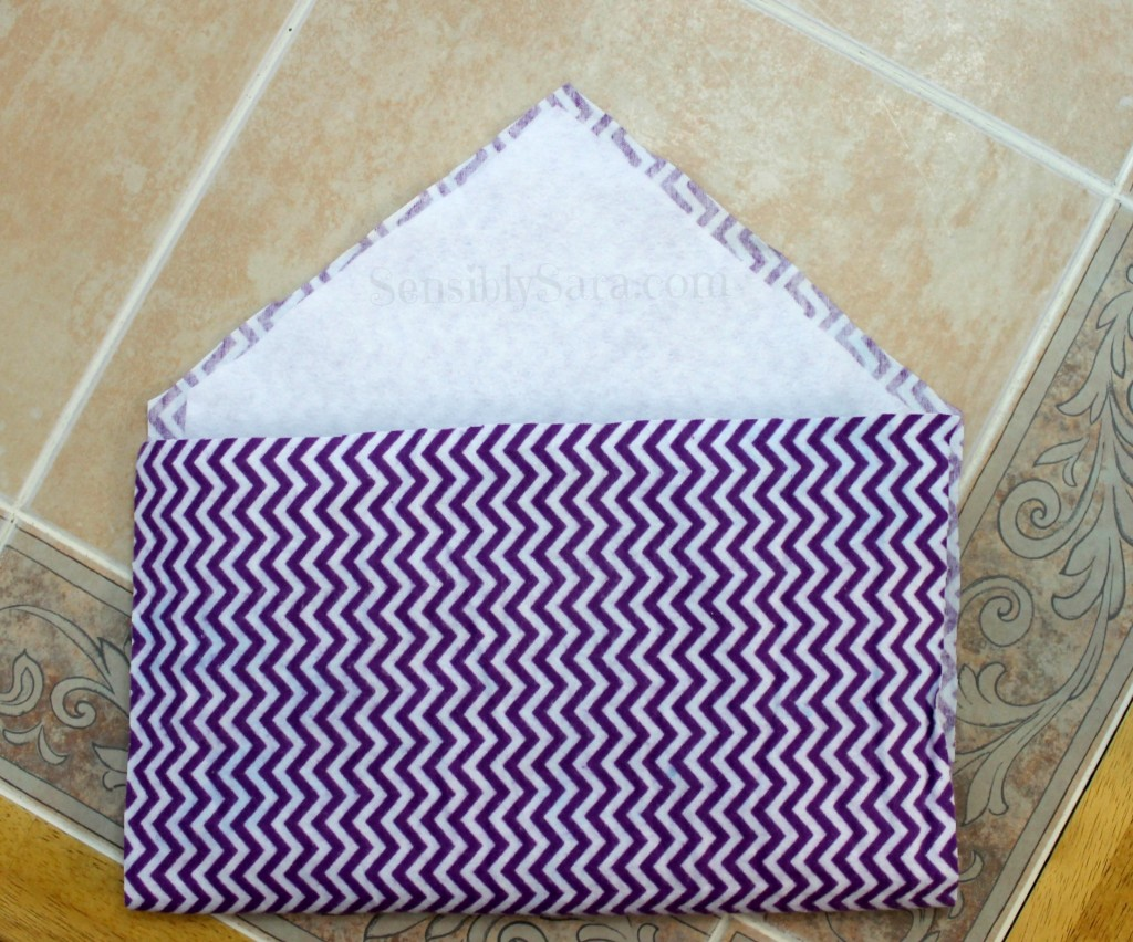 Tablet Case - Before Sewing | SensiblySara.com