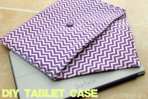 DIY Tablet Case: Microsoft Surface #WindowsChampions