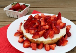 Sara Lee Strawberry Cheesecake #SLSweetTreats