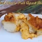 Grilled Cheese Pull Apart Bread | SensiblySara.com