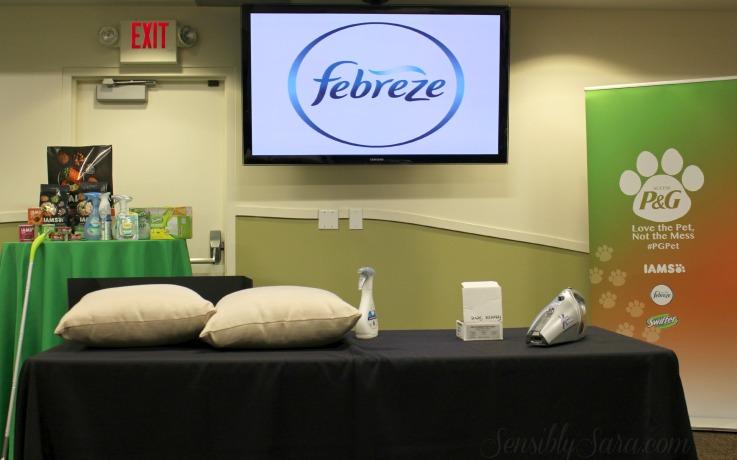 Febreze, Swiffer and Iams | SensiblySara.com