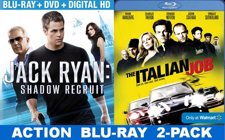 Jack Ryan Shadow Recruit Walmart Exclusive #shop #JackRyanBluRay