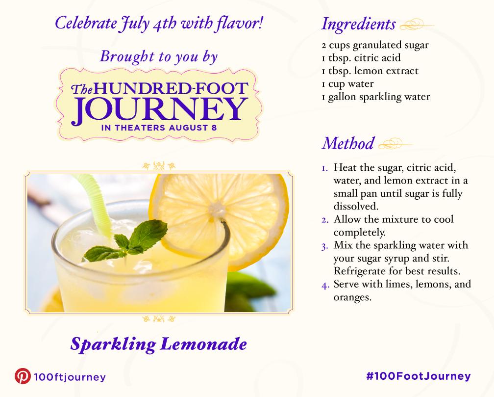 Sparkling Lemonade #Recipe