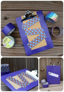 Scotch Duct Tape Back to School Contest {+ Clipboard Craft}