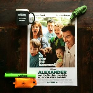 Alexander and the Terrible, Horrible, No Good, Very Bad Day {#Giveaway} CLOSED