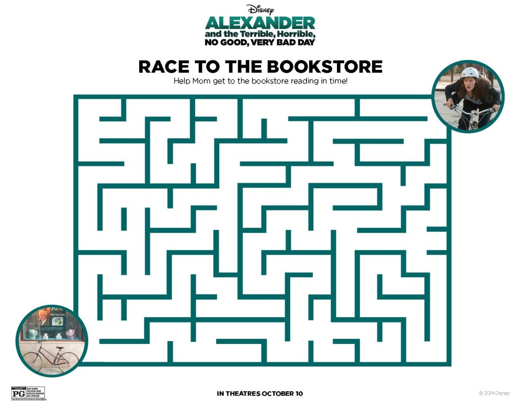 Alexander Maze Printable