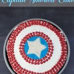 Captain America Cake #shop | SensiblySara.com