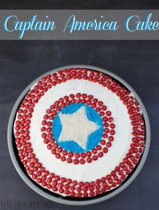 Date Night with MARVEL and M&M's {Captain America Cake} #shop #HeroesEatMMs