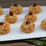 Pumpkin Rice Krispies   SensiblySara.com