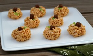 Kids in the Kitchen: Pumpkin Rice Krispies