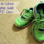 Shopping Guide for P.E. Class | SensiblySara.com