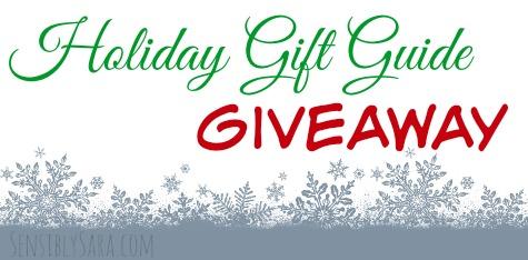 Holiday Gift Guide Giveaway | SensiblySara.com
